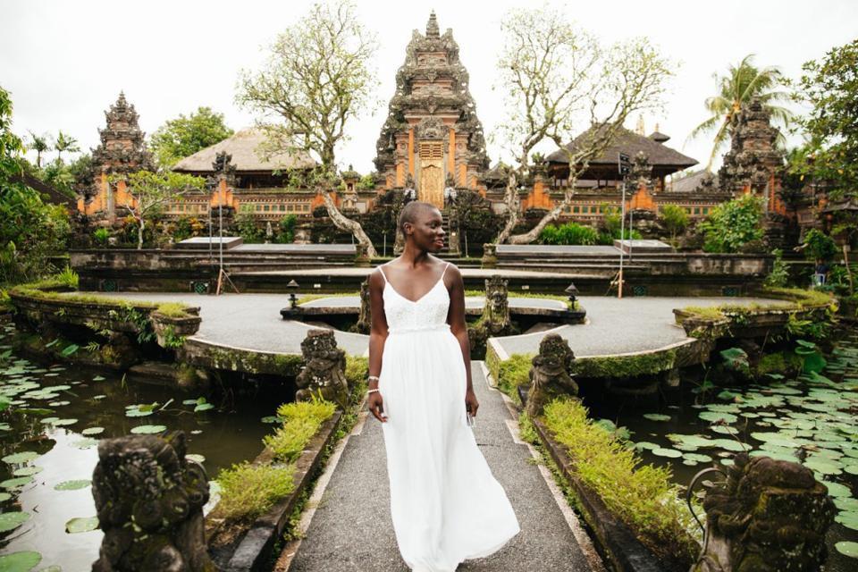 Jessica Nabongo tại Bali, Indonesia