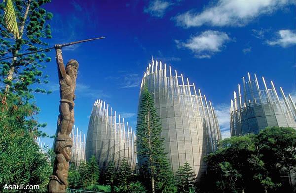 Trung tâm Văn hoá Tjibaou tại Noumea (New Caledonia)