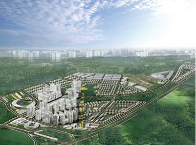 Phối cảnh dự án KĐT Phúc Ninh