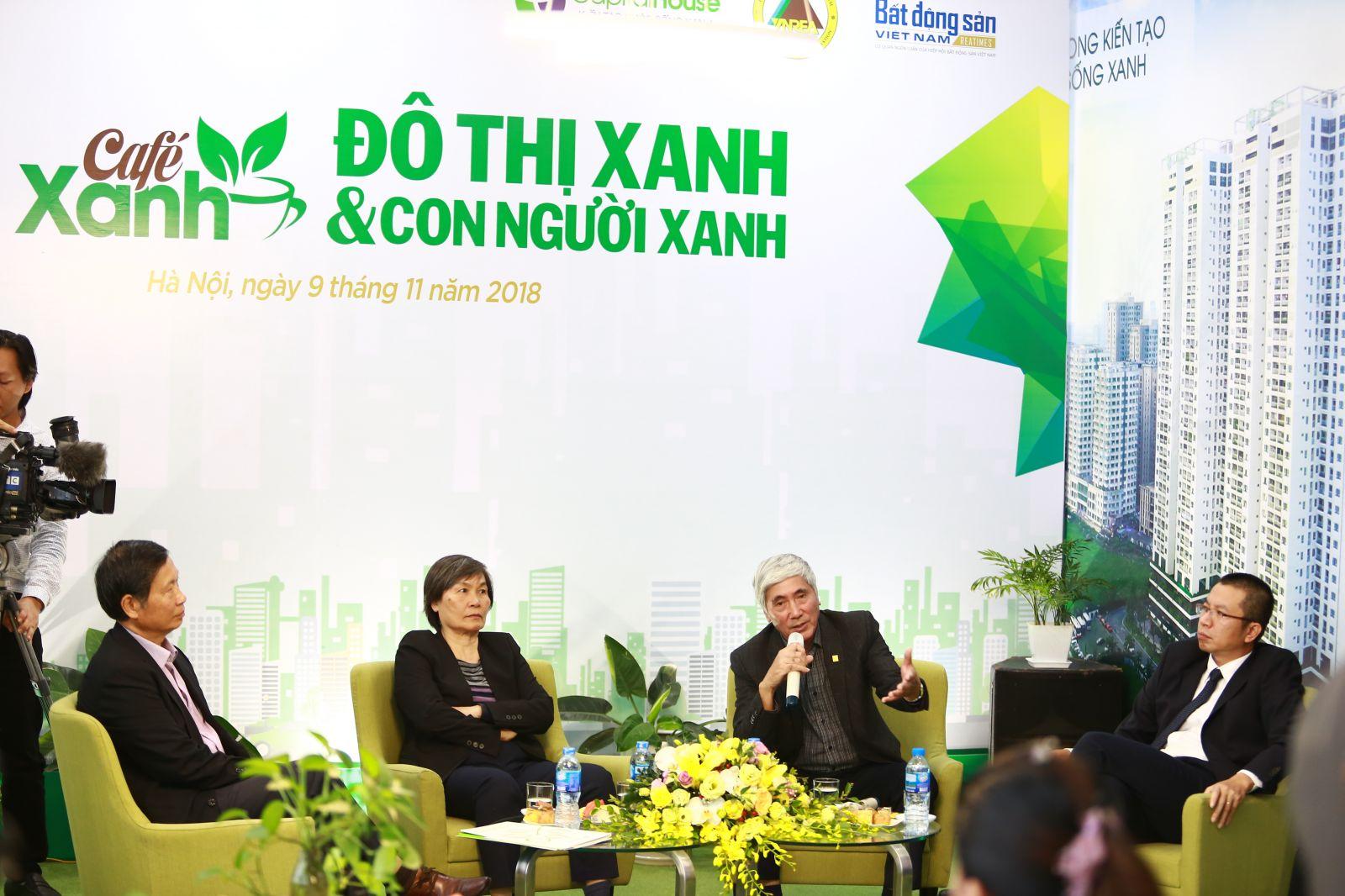 Toạ đàm có sự tham dự của ông Phạm Thanh Tùng