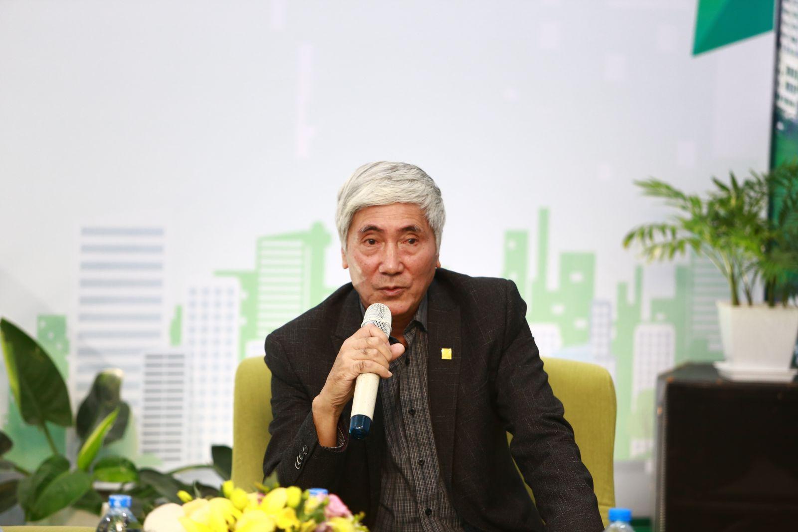 KTS. Phạm Thanh Tùng điều phối chương trình Toạ đàm