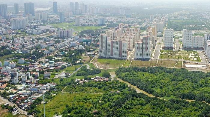Khu đô thị mới Thủ Thiêm, TP.HCM.