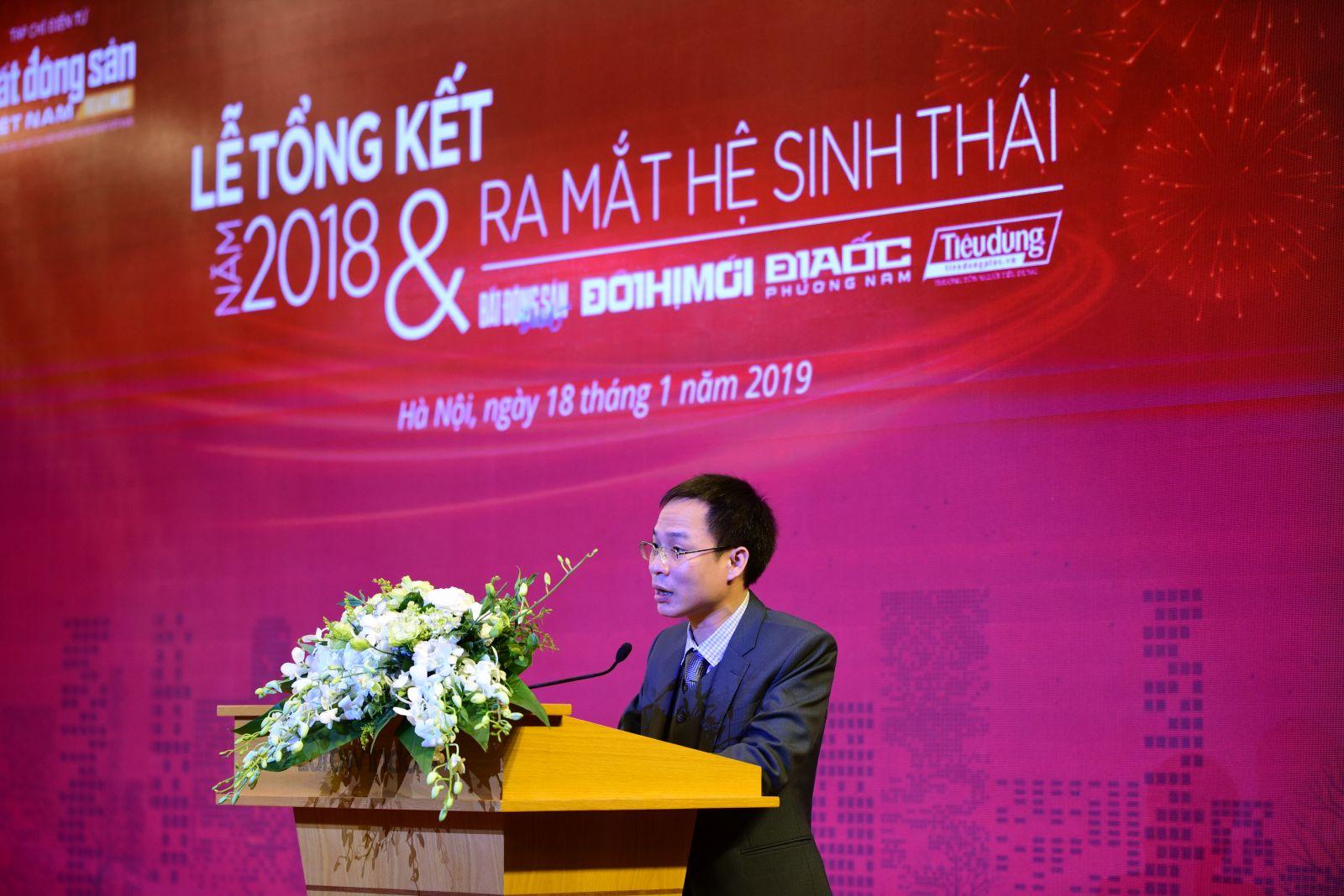Ông Phạm Nguyễn Toan - Tổng Biên tập Tạp chí điện tử Bất động sản Việt Nam