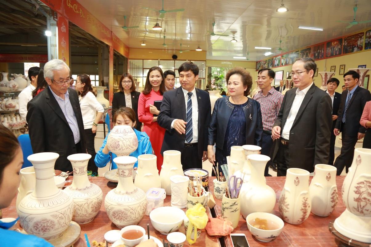 Gốm Chu Đậu - Thành viên Tập đoàn BRG: Hành trình tiếp nối tinh hoa văn hóa Việt