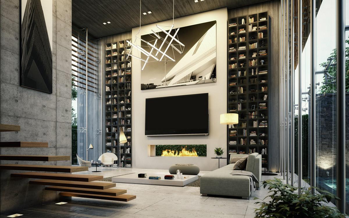 30 mẫu thiết kế phòng khách sang trọng