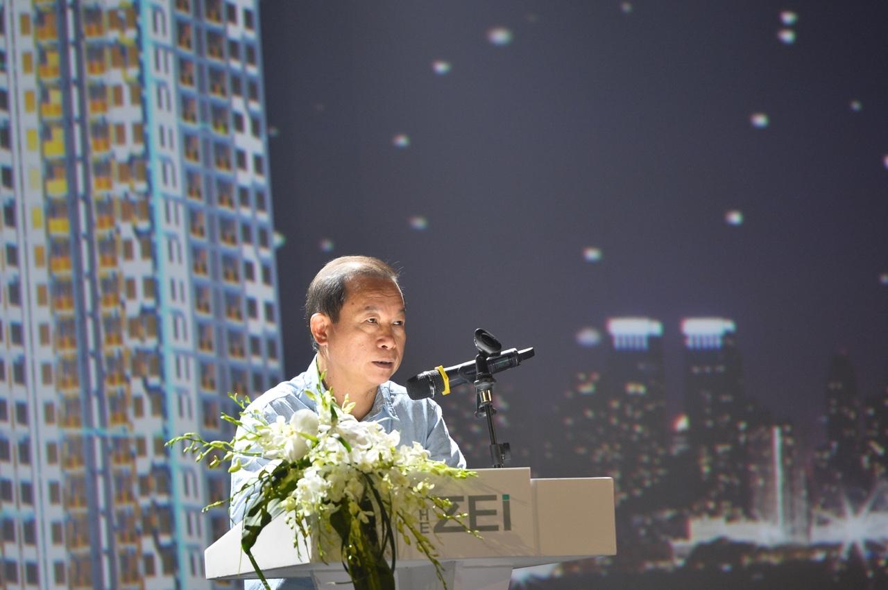 Ông Vũ Văn Phấn phát biểu tại sự kiện