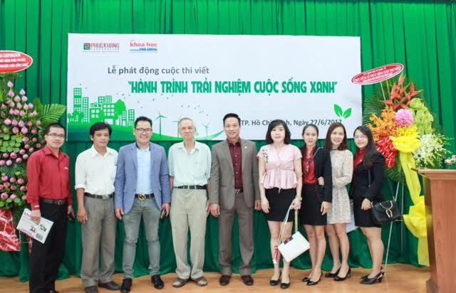 """Phúc Khang phối hợp với Báo Khoa học phổ thông tổ chức cuộc thi viết """"Hành trình trải nghiệm cuộc sống xanh"""""""