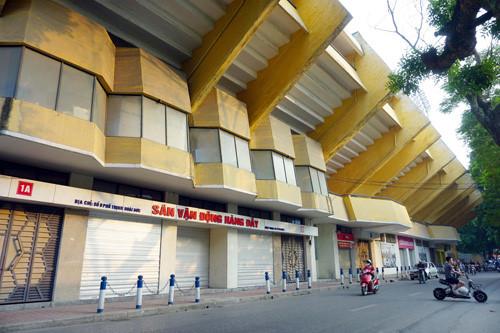 Sân vận động Hàng Đẫy.