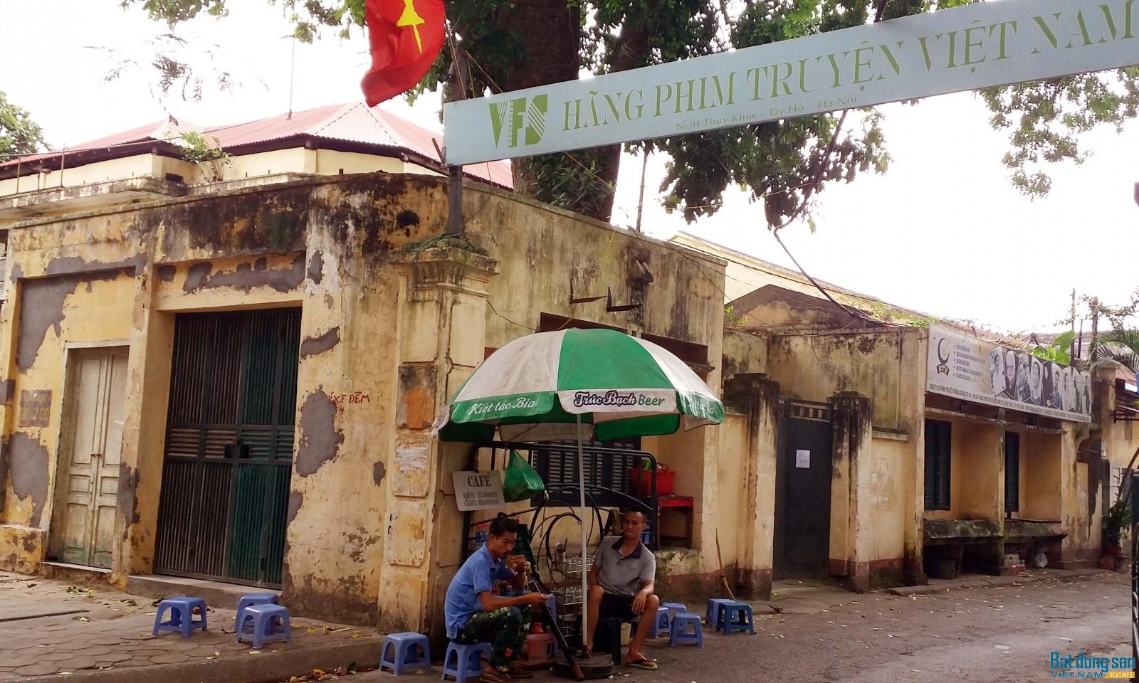 Hãng phim Truyện Việt Nam. Ảnh: Tuấn Minh