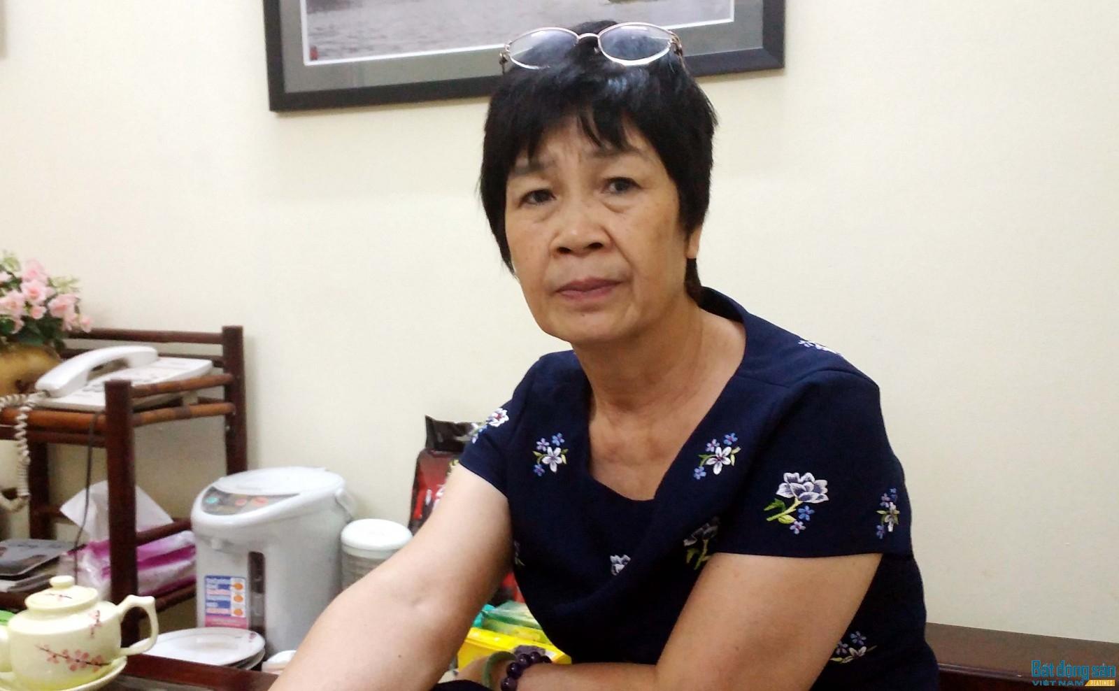 Nhà biên kịch Nguyễn Thị Hồng Ngát. Ảnh: Tuấn Minh