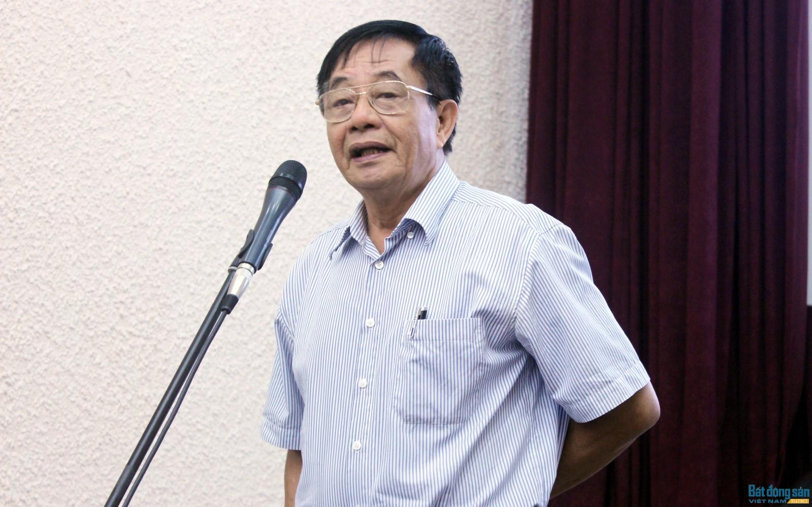 Chủ tịch Hội Điện ảnh Việt Nam Đặng Xuân Hải. Ảnh: Hồng Vũ