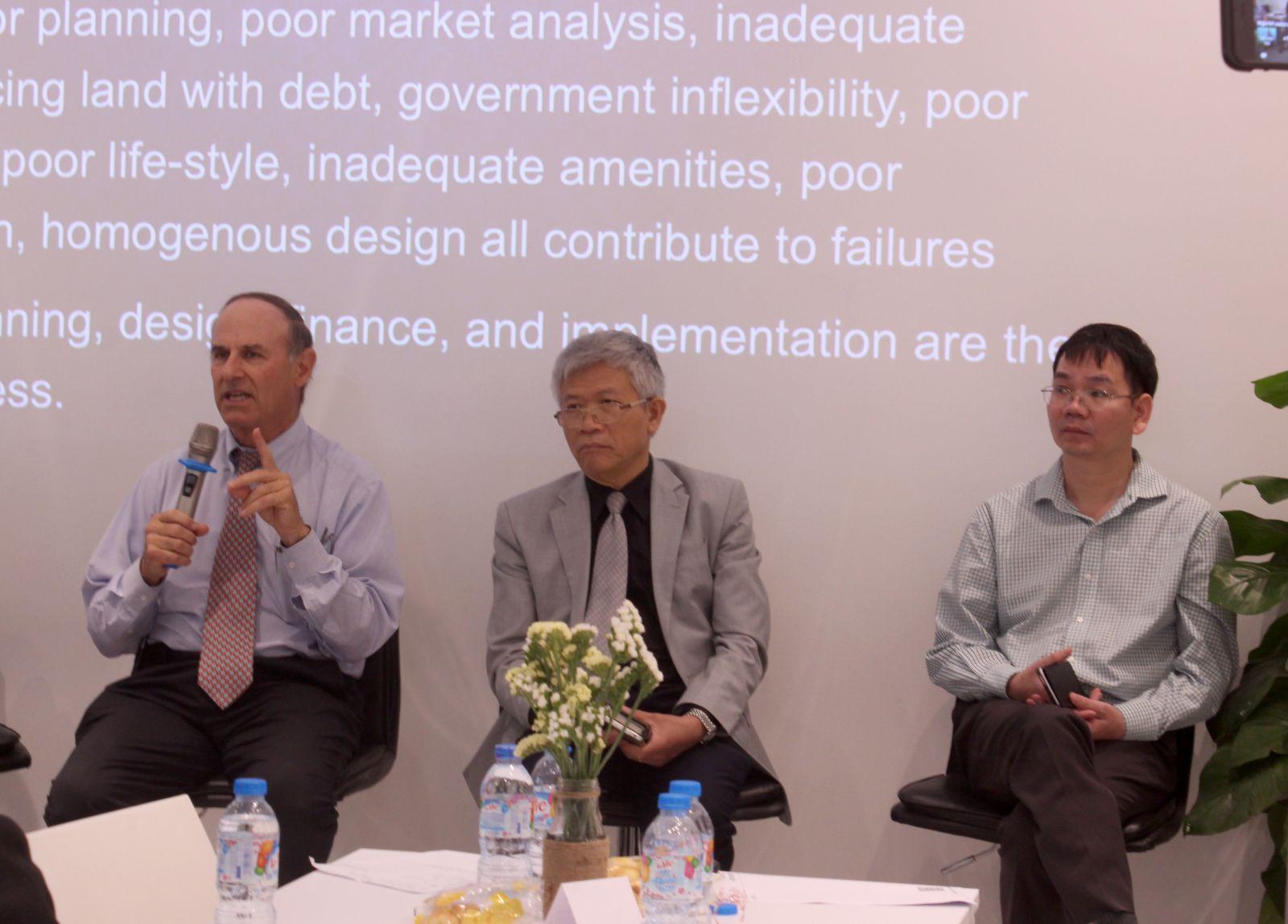 """GS. Richard Peiser: """"Người giúp dự án bán hàng tốt nhất chính là cư dân"""""""
