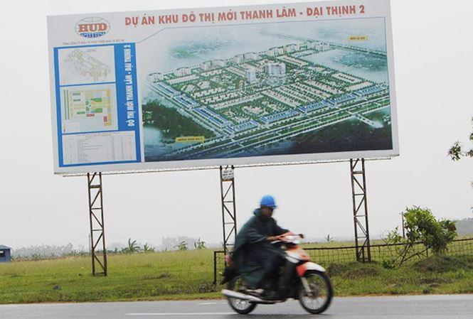 Khu đô thị Thanh Lâm - Đại Thịnh 2 là một trong những dự án chậm tiến độ