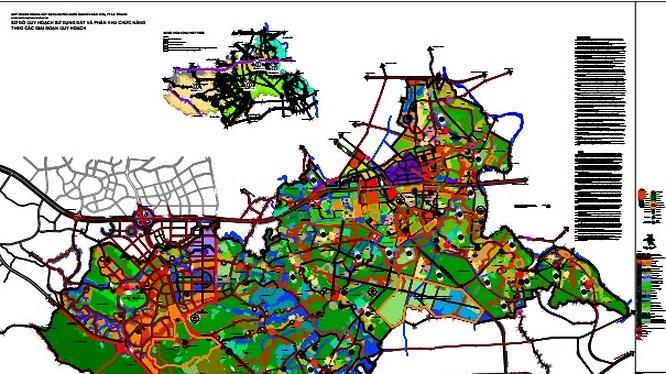 Hà Nội: Duyệt chỉ giới tuyến đường trong khu đất đấu giá huyện Quốc Oai
