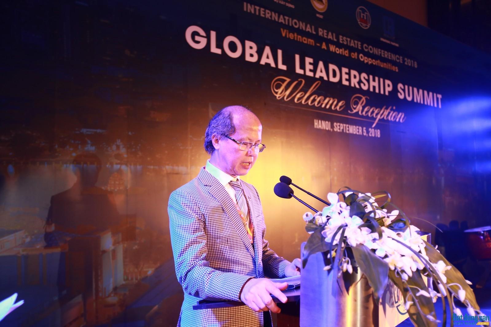 Thứ trưởng Nguyễn Trần Nam phát biểu khai mạc tiệc