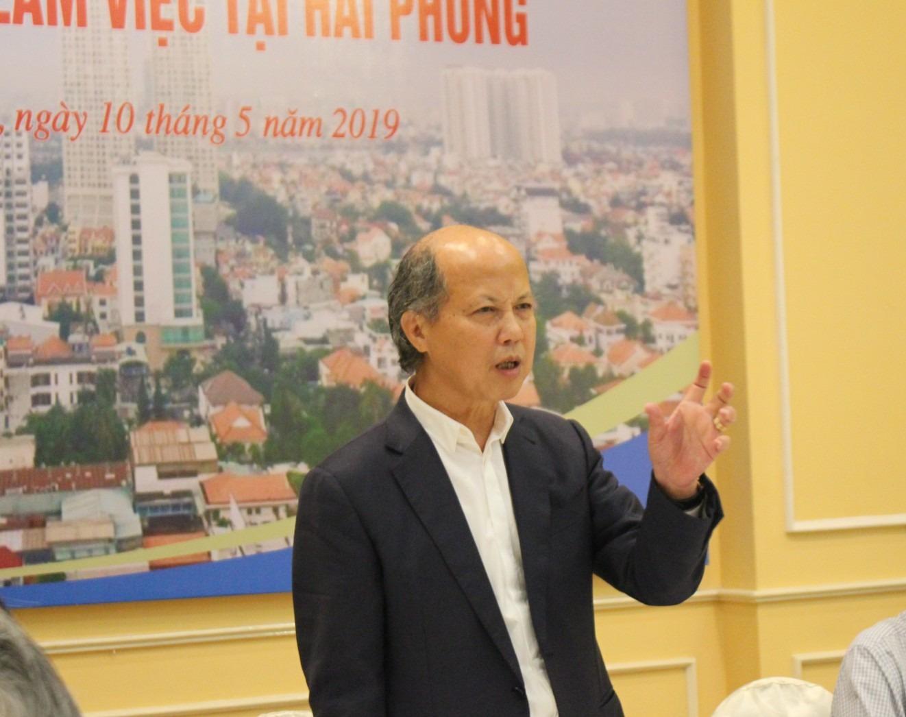 Chủ tịch Nguyễn Trần Nam chia sẻ tại cuộc làm việc