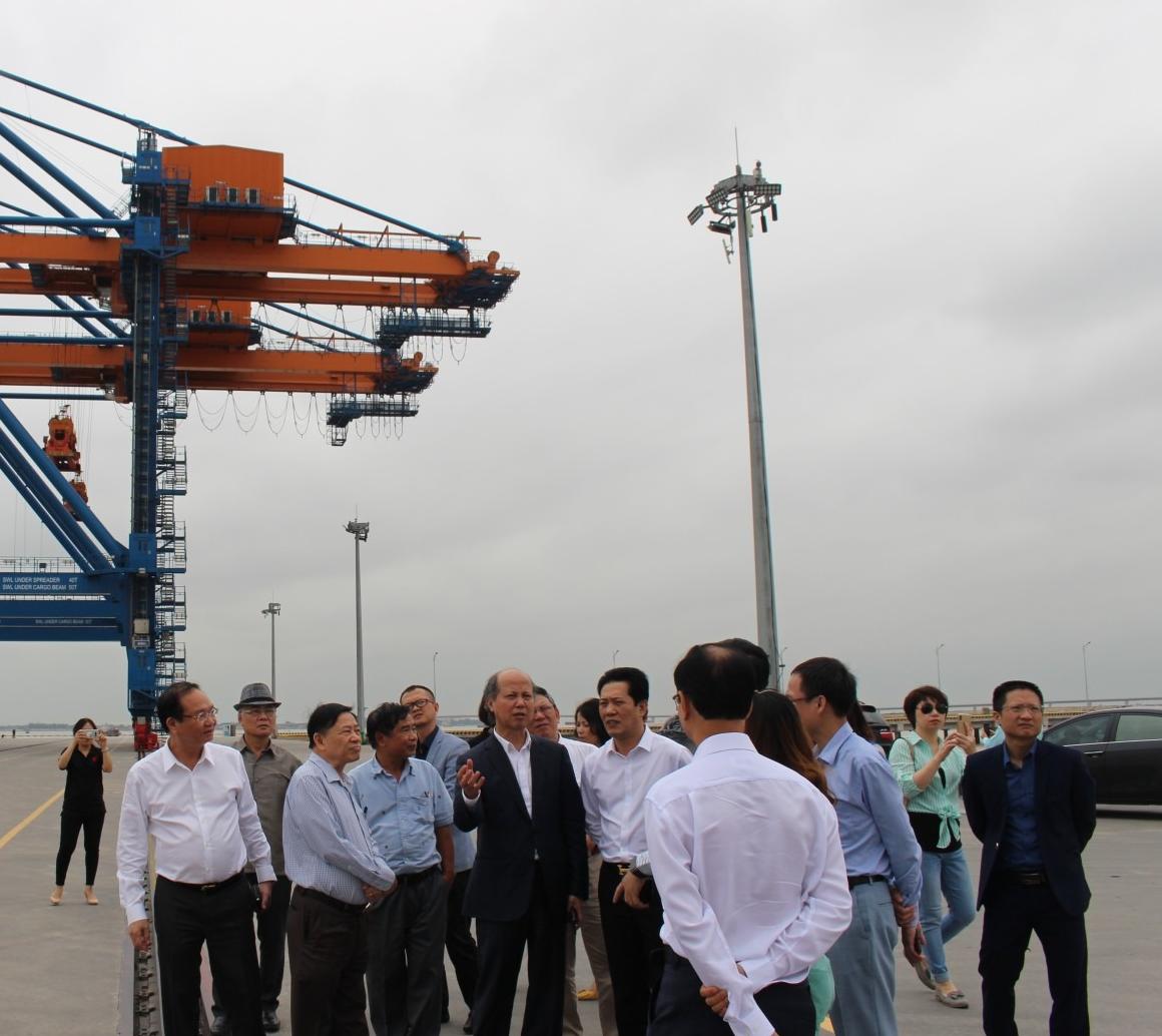 Dự án Khu công nghiệp Nam Đình Vũ của Công ty Cổ phần Đầu tư Sao Đỏ