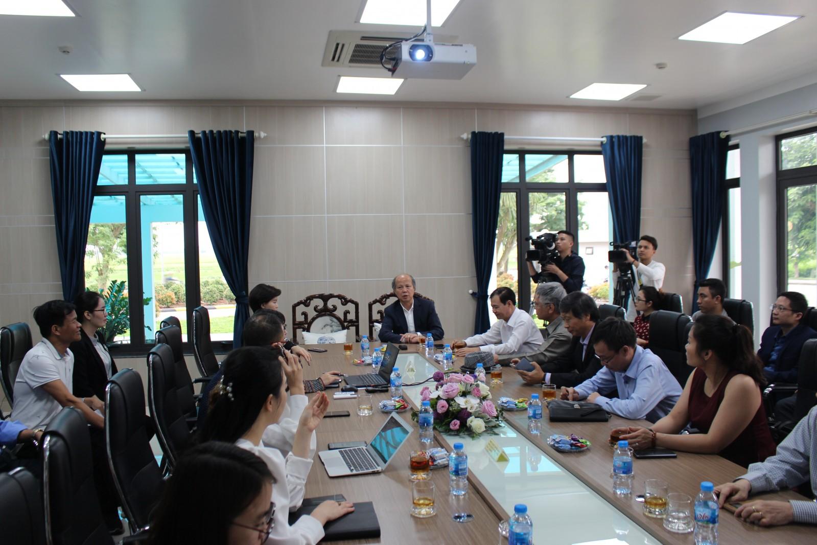 Toàn cảnh buổi chia sẻ đại diện Khu Công nghiệp Đại An với Hiệp hội Bất động sản Việt Nam