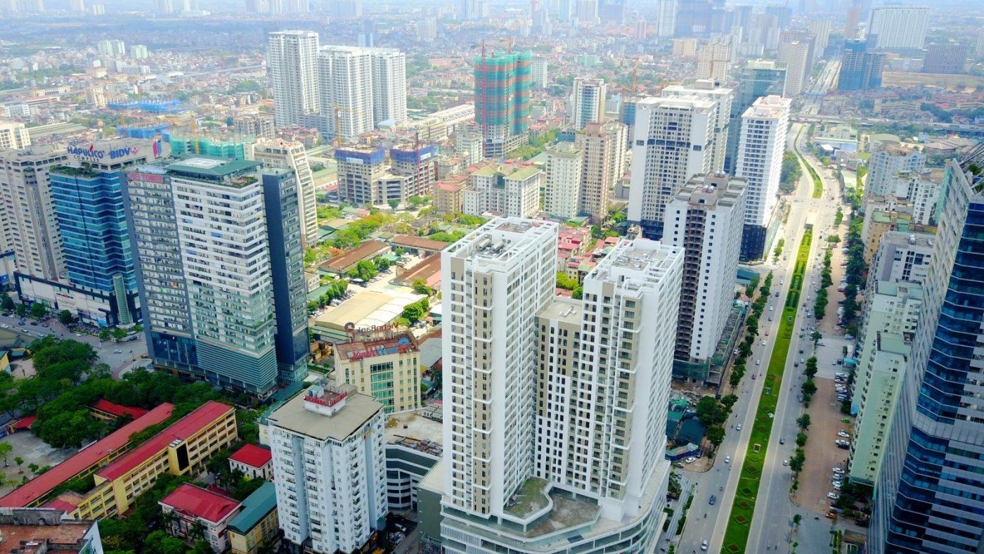 thị trường bất động sản đang phụ thuộc rất nhiều vào nguồn vốn từ ngân hàng