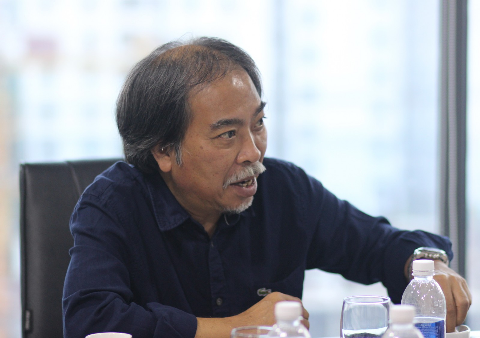 Nhà văn Nguyễn Quang Thiều
