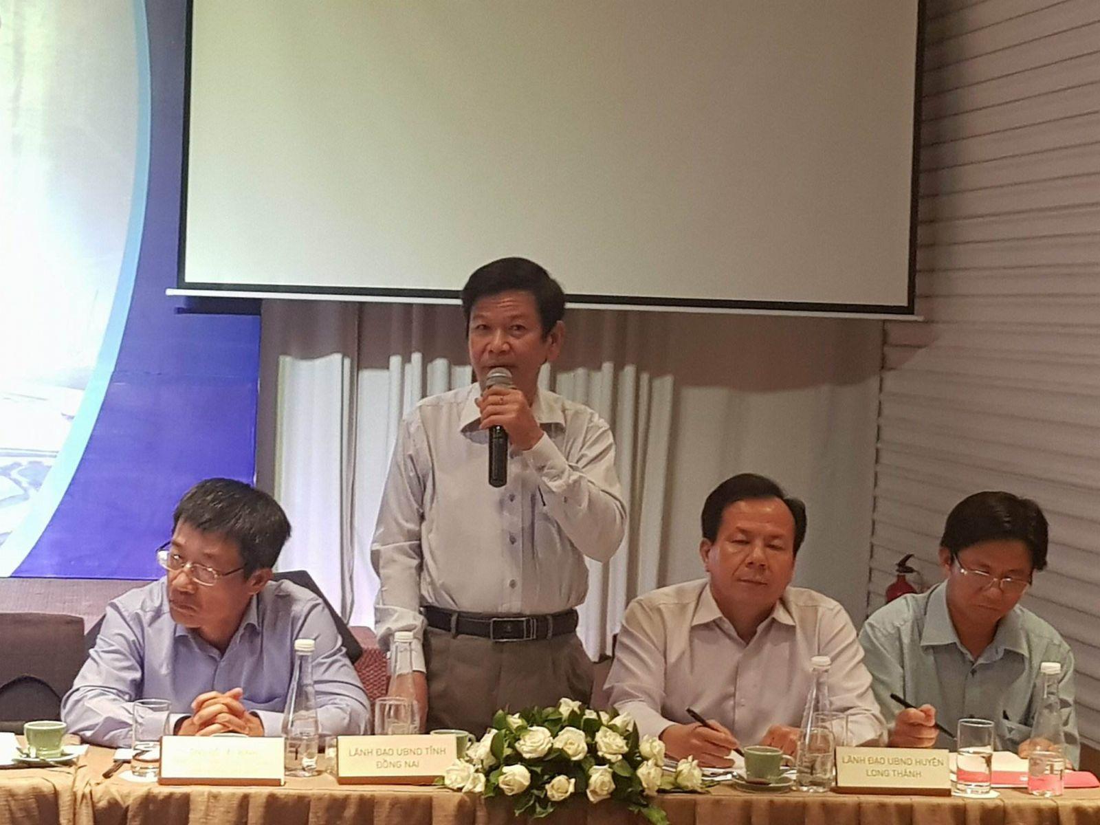 Ông Nguyễn Ngọc Hưng phó Giám đốc sở Tài Nguyên và Môi trường tỉnh Đồng Nai
