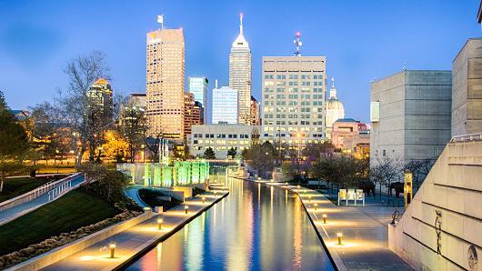 Để mua được một ngôi nhà ở Indianapolis, thành phố lớn thứ 15 của Mỹ, khách hàng chỉ cần có mức thu nhập trung bình
