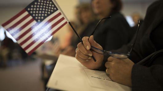 Lá cờ Mỹ và lời tuyên thệ trung thành