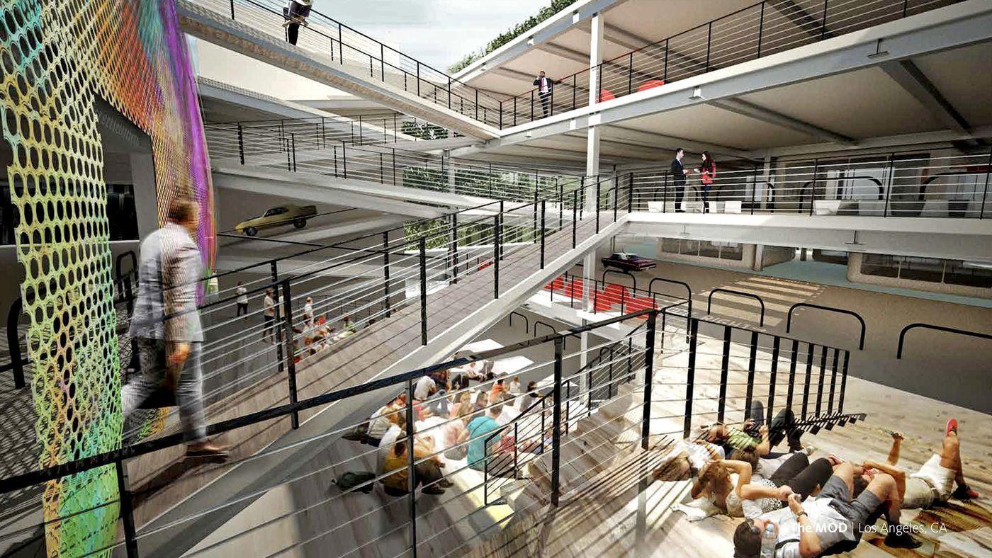 Thiết kế đô thị tương lai: Xây chung cư từ bãi đậu xe cao tầng