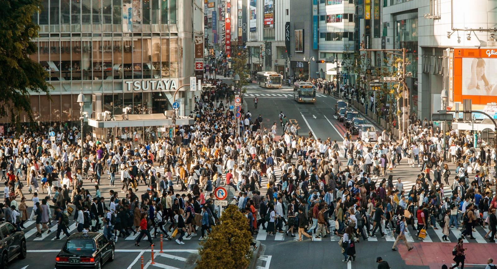 Đường phố Tokyo giờ thấp điểm