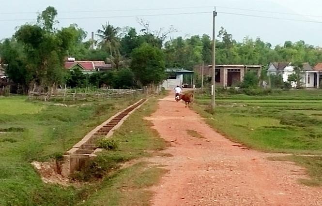 Thật khó để các địa phương xây dựng nông thôn mới với những con đường đã xuống cấp như trên. (nguồn: Sở Nông nghiệp & Phát triển nông thôn Quảng Bình)