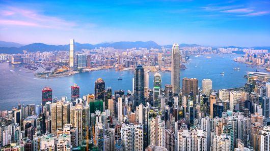 Hồng Kông nhìn từ trên cao