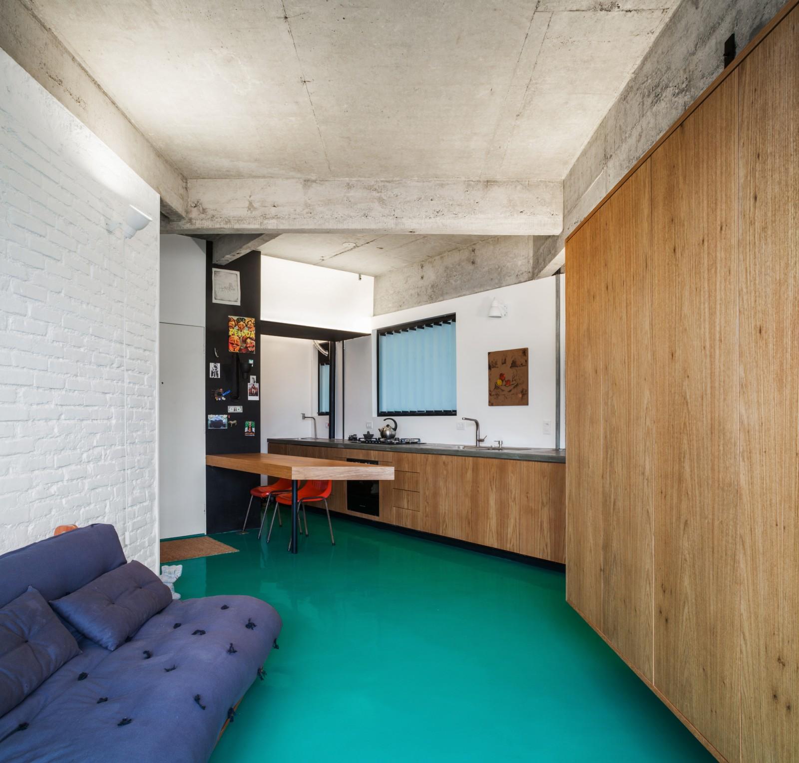 Viadutos Apartment / Vão