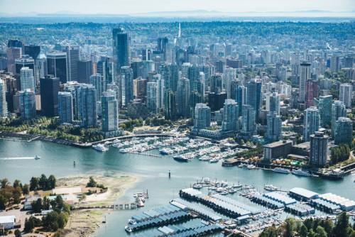 Vancouver nhìn từ trên cao