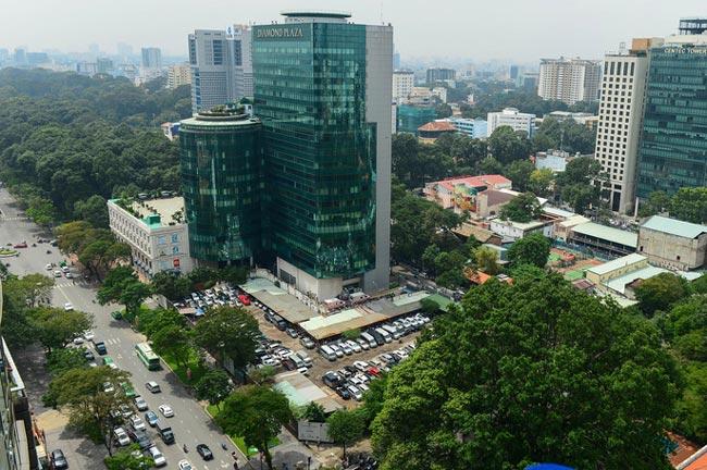 Mảnh đất vàng số 8 - 12 đường Lê Duẩn, phường Bến Nghé, quận 1. TP.HCM