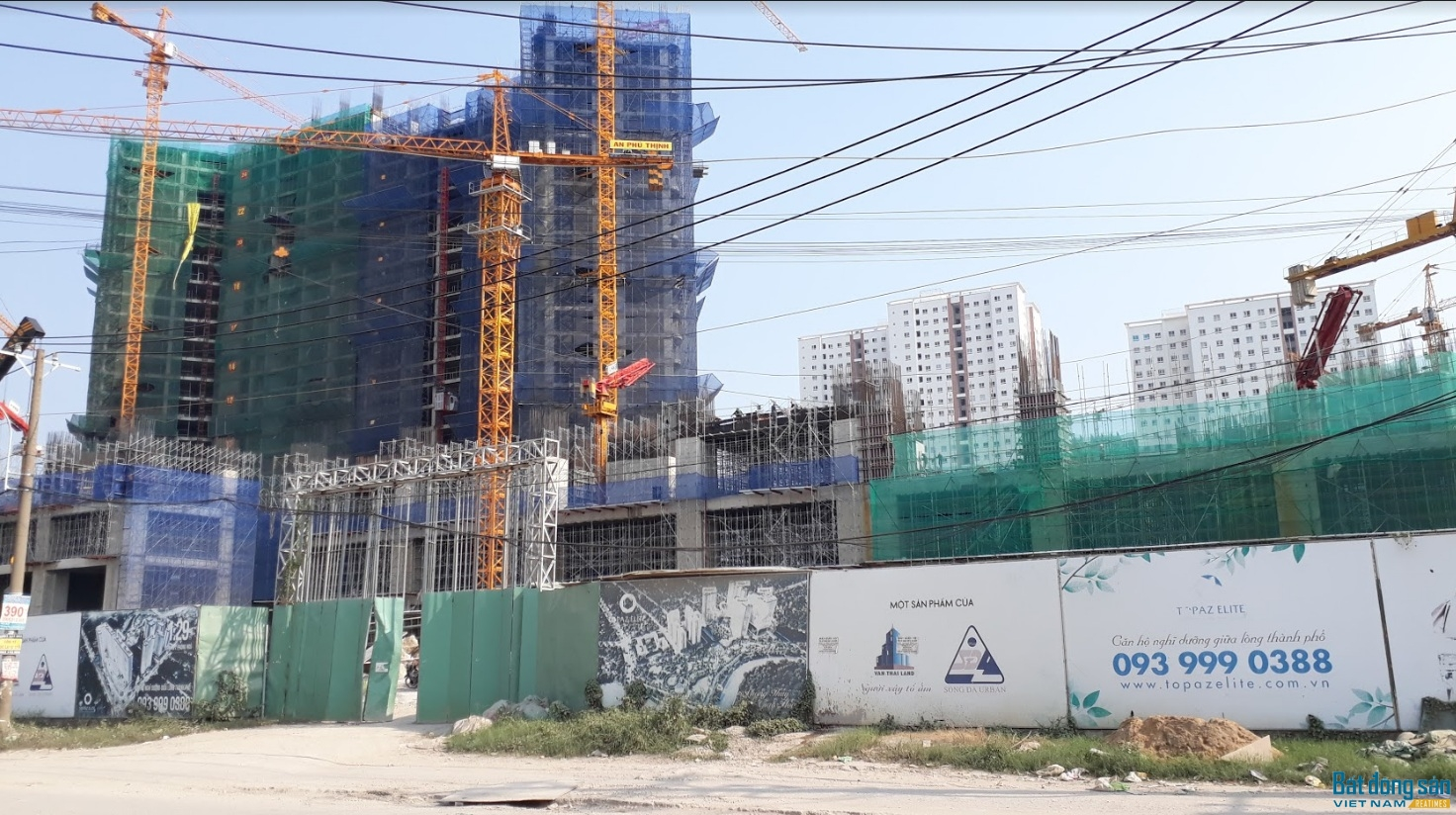 Phần đất được UBND TP.HCM giao cho Công ty Vạn Thái để làm dự án