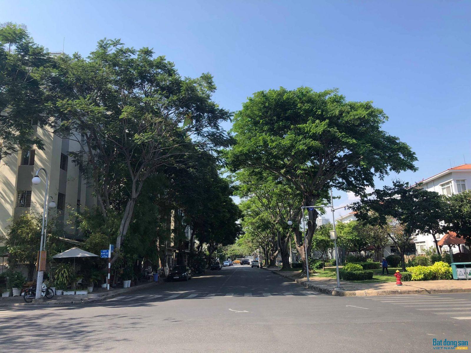 Một góc Khu đô thị Phú Mỹ Hưng