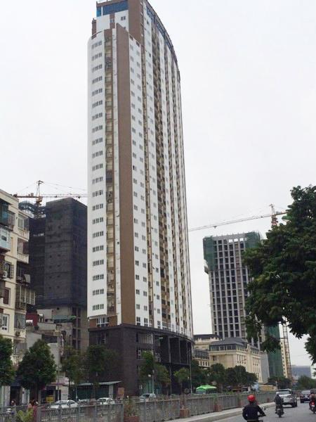 Thăng Long Tower xây dựng sai hồ sơ thiết kế ban đầu, vượt 11 tầng phải chăng là nguyên nhân ảnh hưởng đến lưu lượng nước sử dụng tại đây?