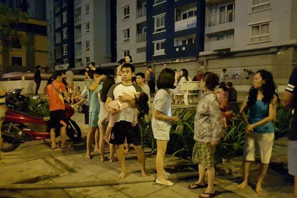 Công tác bảo đảm an ninh, phòng cháy chữa cháy là mối quan tâm hàng đầu của các cư dân sinh sống tại các tòa nhà chung cư, nhà cao tầng (Ảnh minh họa)