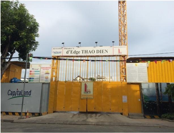 Dự án chung cư kết hợp Thương mại – dịch vụ Sensation (D'Edge Thao Dien) tọa lạc tại số 213 Nguyễn Văn Hưởng, phường Thảo Điền – Quận 2