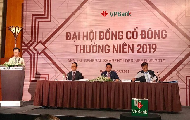 Đại hội đồng cổ đông VPBank 2019