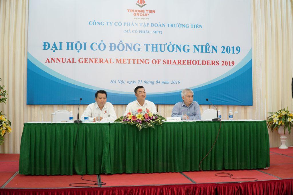 Đại hội đồng cổ đông 2019 của Tập đoàn Trường Tiền