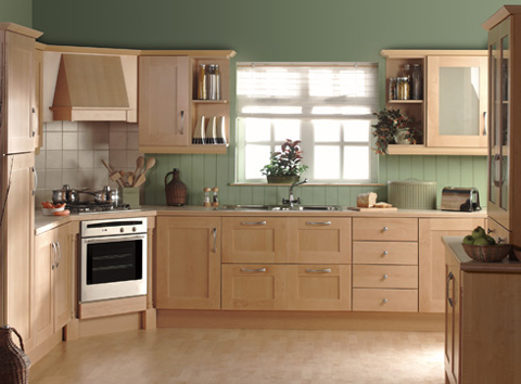 Phòng bếp có thể đặt ở tâm nhà nhưng cần rộng rãi, thoáng đãng để hút vượng khí