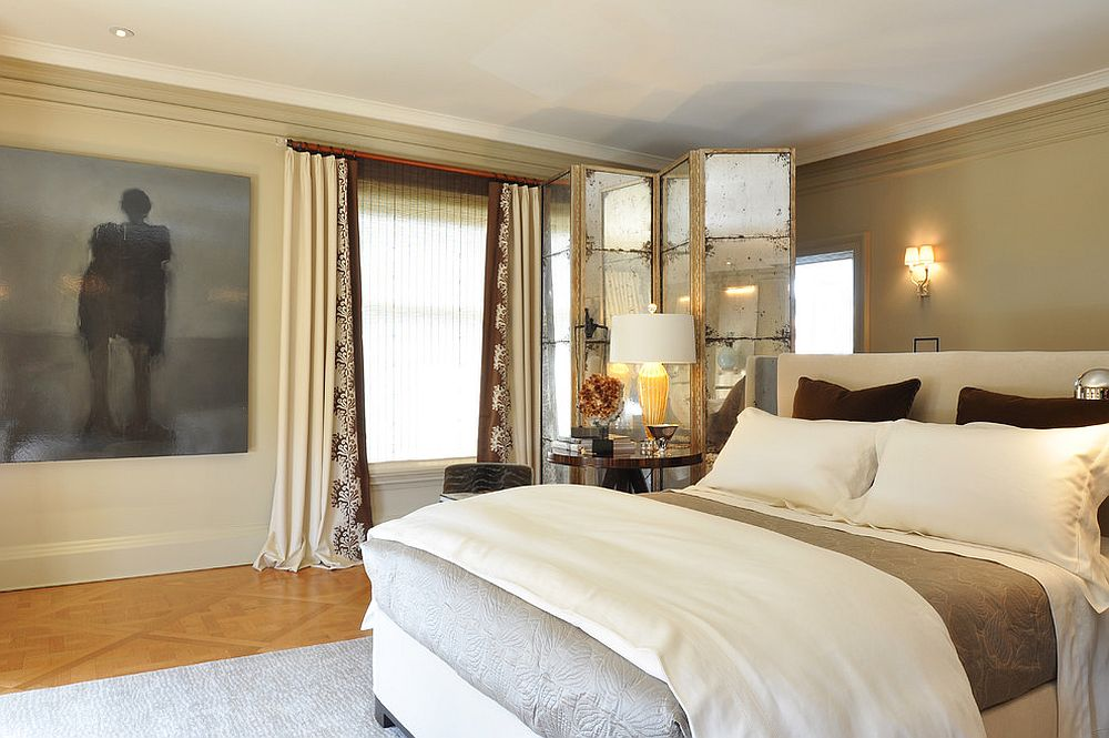 Giường ngủ cần đặt cách xa cửa sổ để tránh thoát khí và gió lùa