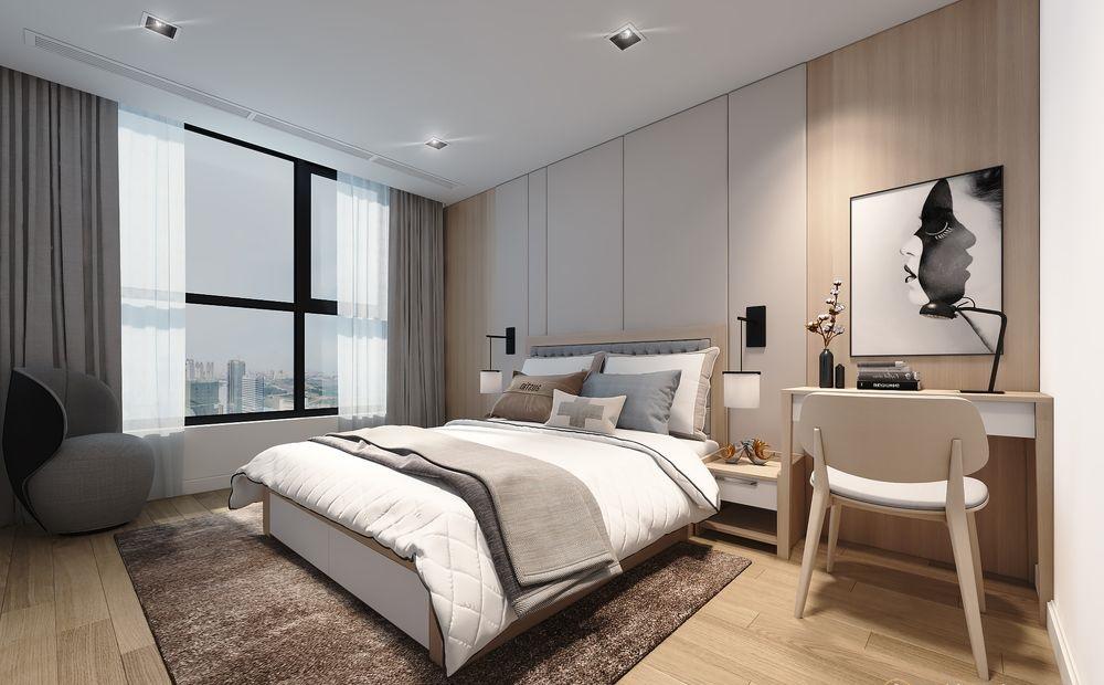 Phòng ngủ ở nơi thoáng mát, tiếp xúc với thiên nhiên sẽ nhận được nhiều sinh khí