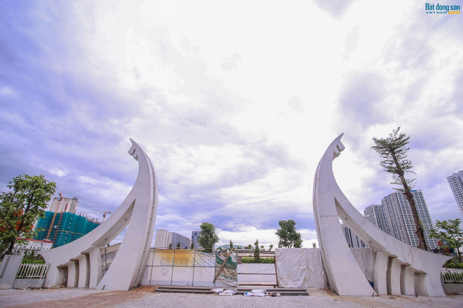 """Công viên hồ điều hòa Nhân Chính sắp """"hồi sinh"""""""