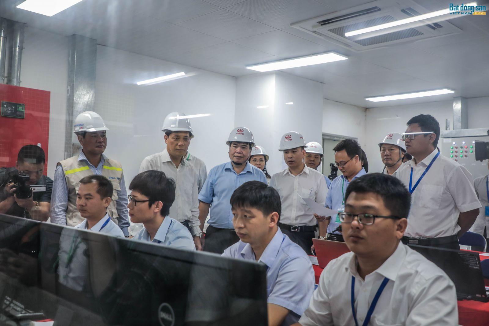 Đội ngũ những người vận hành dề cao viêc đủ điều kiện để đưa vào vận hành thương mại trước tết âm lịch 2019 là mục tiêu của dự án.