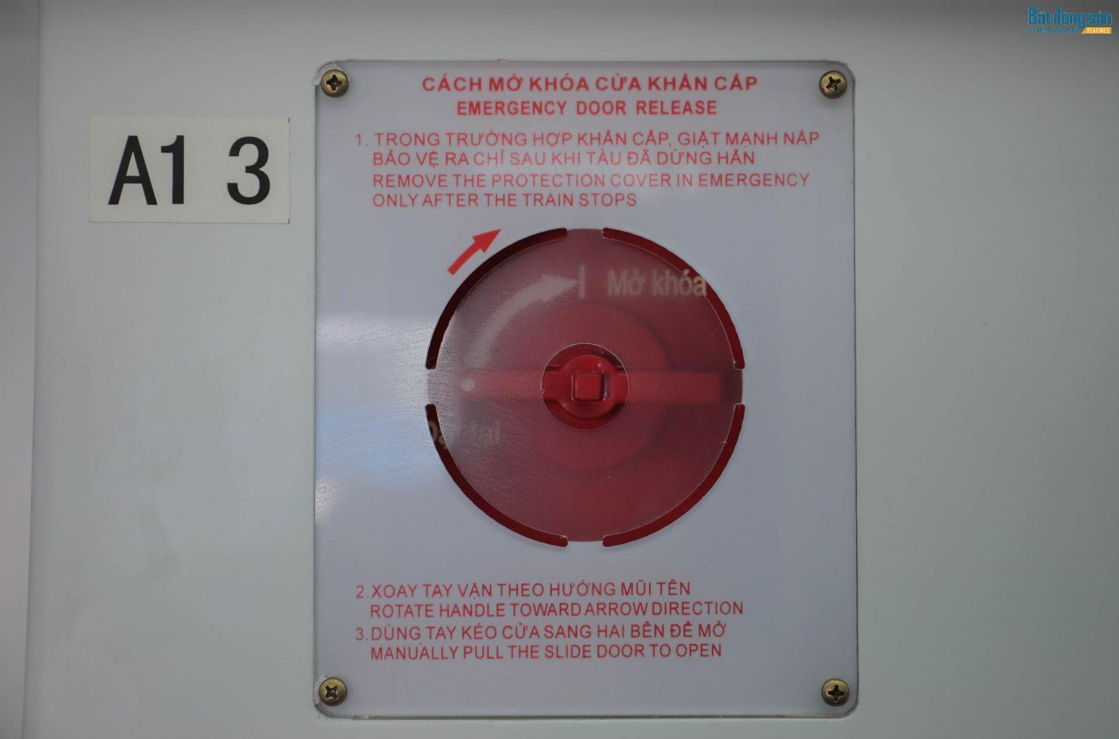 Hệ thống PCCC được trang bị đầy đủ để nâng cao tính an toàn.
