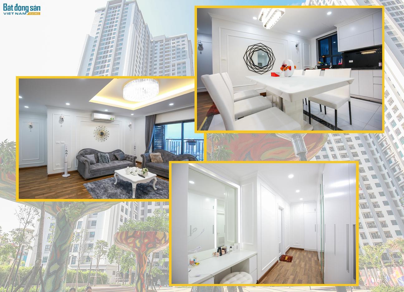 Nhắm mắt thấy... tình yêu trong căn chung cư cao cấp toàn màu trắng cặp vợ chồng trẻ tự thiết kế