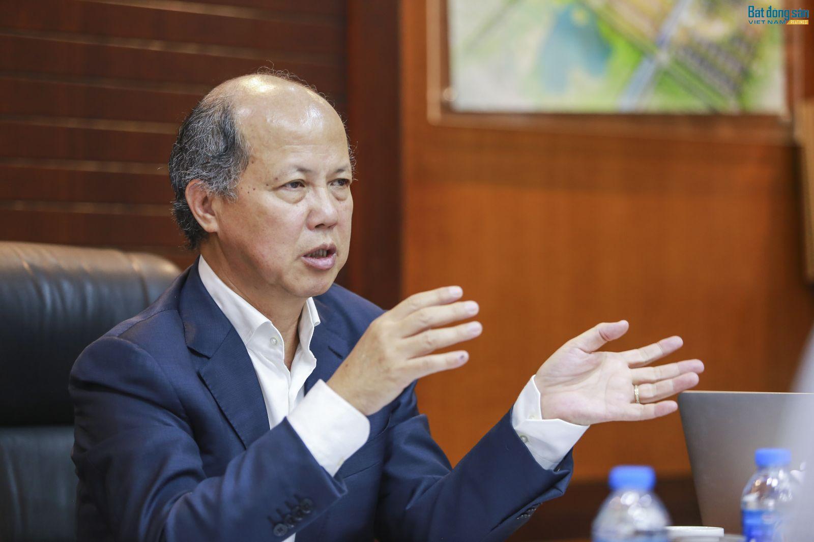 Ông Nguyễn Trần Nam, Chủ tịch Hiệp hội Bất động sản Việt Nam - nguyên Thứ trưởng Bộ xây dựng, Chủ tịch IREC 2018