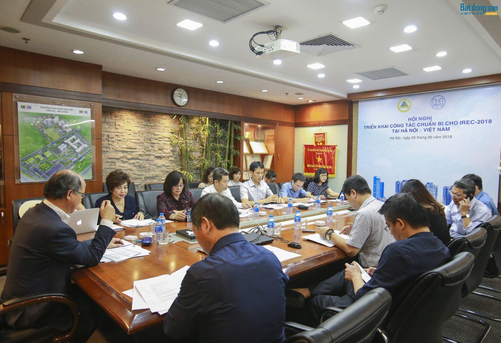 Hội nghị triển khai công tác chuẩn bị cho IREC - 2018 tại Hà Nội - Việt Nam